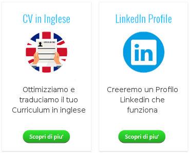 Trovareunlavoro.it - CV in inglese e Profilo Linkedin